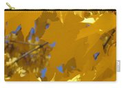 Yellow Maple Leaves Carry-all Pouch