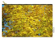 Yellow Maple Carry-all Pouch