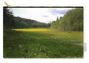 Yellow Meadow Carry-all Pouch