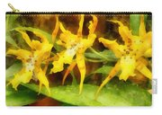 Yellow Miltassia Orchids Carry-all Pouch