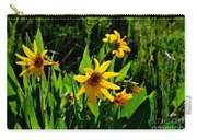 Yellow Mountain Flowers Carry-all Pouch