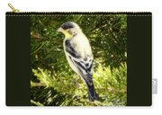 Yellow N Black Finch Carry-all Pouch