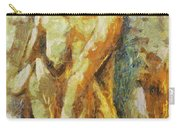 Yellow Nude Carry-all Pouch