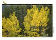 Yellow On Green Carry-all Pouch