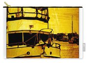 Yellow On The Water Carry-all Pouch