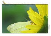 Yellow On Yellow Carry-all Pouch