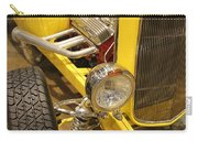 Street Car - Yellow Open Engine Carry-all Pouch