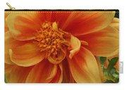Yellow Orange Dahlia Carry-all Pouch