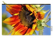 Yellow Orange Sunflower Carry-all Pouch