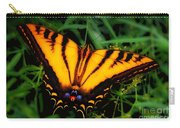 Yellow Orange Tiger Swallowtail Butterfly Carry-all Pouch