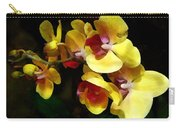 Yellow Orchids Shadow And Light Carry-all Pouch