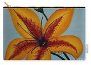 Yellow Oriental Lily Carry-all Pouch