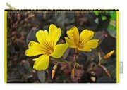 Yellow Oxalis - Oxalis Spiralis Vulcanicola Carry-all Pouch