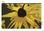 Yellow Paper Flower Carry-all Pouch