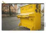 Yellow Piano Beethoven Carry-all Pouch