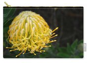 Yellow Pincushion Protea Carry-all Pouch