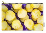 Yellow Plums Carry-all Pouch