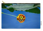 Yellow Pond Lily Carry-all Pouch
