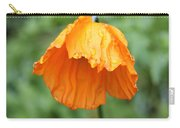 Yellow Poppy - Morning Dew Carry-all Pouch