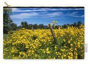Yellow Profusion Carry-all Pouch