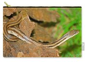 Yellow Rat Snakes Carry-all Pouch