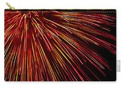 Yellow Red Firework Explosion Carry-all Pouch