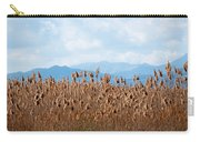 Yellow Reeds And Blue Mountains Carry-all Pouch