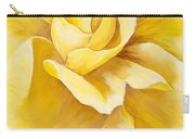 Yellow Rose Close Up Carry-all Pouch