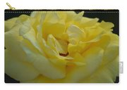Yellow Rose Frills Carry-all Pouch