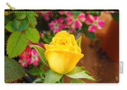 Yellow Rose In Bloom Carry-all Pouch