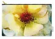 Yellow Rose Painted Carry-all Pouch