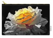 Yellow Rose Series - ...but Soul Is Alive Carry-all Pouch
