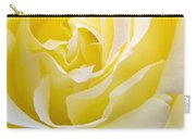 Yellow Rose Carry-all Pouch by Svetlana Sewell
