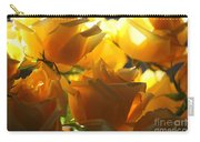 Yellow Roses And Light Carry-all Pouch