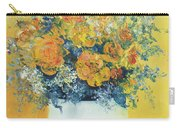 Yellow Roses Carry-all Pouch