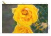 Yellow Roses On A Bush Carry-all Pouch