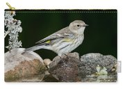 Yellow-rumped Warbler Hen Carry-all Pouch