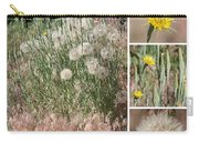 Yellow Salsify Collage Carry-all Pouch