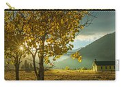 Yellow School House Carry-all Pouch