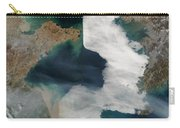 Yellow Sea - Satellite View Carry-all Pouch