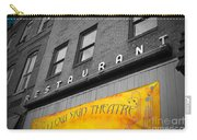 Yellow Sign Theatre Carry-all Pouch