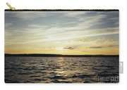 Yellow Sunrise In Manhassett Bay Carry-all Pouch