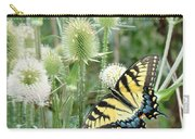 Yellow Swallowtail Butterfly Carry-all Pouch