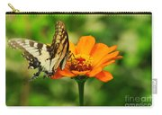 Yellow Swallowtail Carry-all Pouch