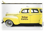 Yellow Taxi Cab Carry-all Pouch
