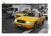 Yellow Taxi Color Pop Carry-all Pouch