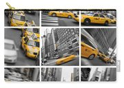 Yellow Taxis Collage Carry-all Pouch