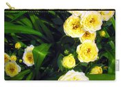Yellow Tea Rose  Happy Mother's Day Carry-all Pouch