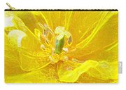 Yellow Tenderness Carry-all Pouch