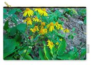 Yellow Tilt Carry-all Pouch